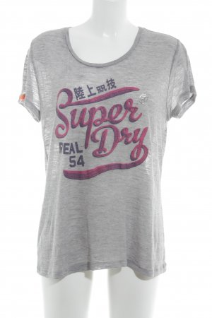 Superdry T-Shirt grafisches Muster Casual-Look