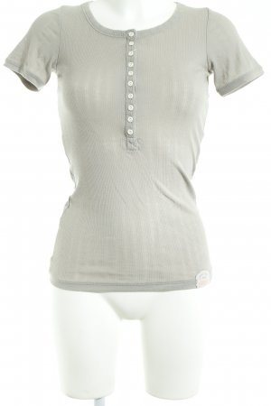Superdry T-Shirt graubraun Casual-Look