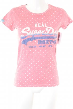 Superdry T-Shirt Herzmuster Casual-Look