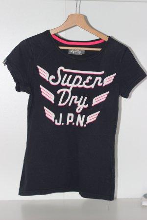 Superdry T-Shirt in dunkelblau - Gr. S