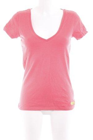 Superdry T-Shirt lachs sportlicher Stil