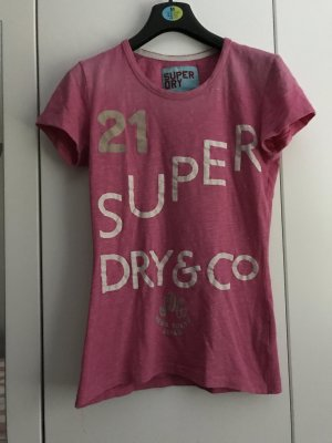 Superdry T-Shirt Pink