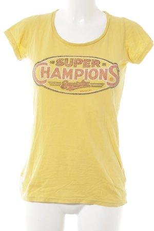 Superdry T-Shirt platzierter Druck Casual-Look