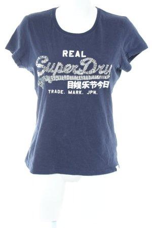 Superdry Camiseta estampado en partes estilo deportivo