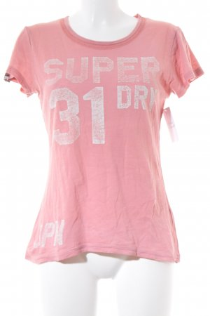Superdry T-Shirt rosa Casual-Look