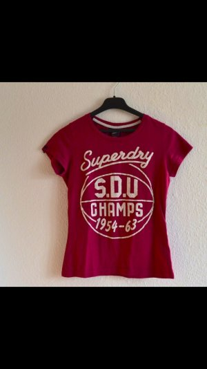 Superdry T-Shirt rot