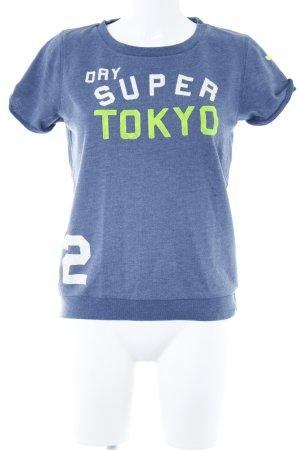 Superdry T-Shirt Schriftzug gedruckt schlichter Stil