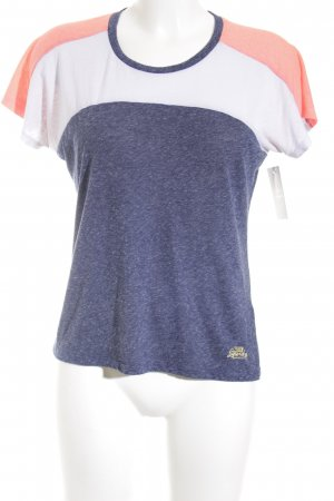 Superdry T-Shirt Streifenmuster Casual-Look