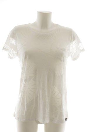 Superdry T-Shirt weiß sportlicher Stil