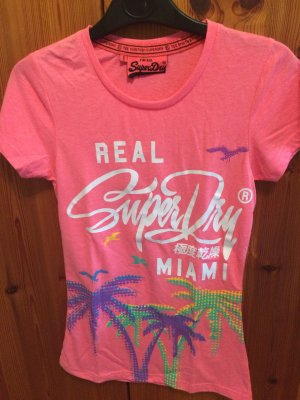 Superdry T-Shirt XS Pink