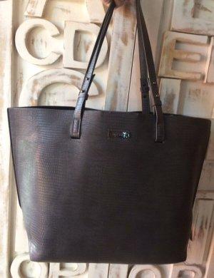 Superdry Borsa shopper grigio-marrone-grigio