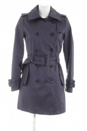 Superdry Trenchcoat lila Casual-Look