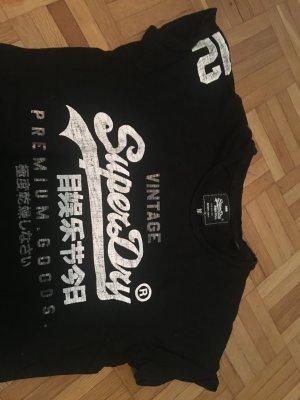 Superdry Vintage Shirt Gr. M schwarz