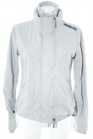 "Superdry Windbreaker ""the windcheater."" light grey"