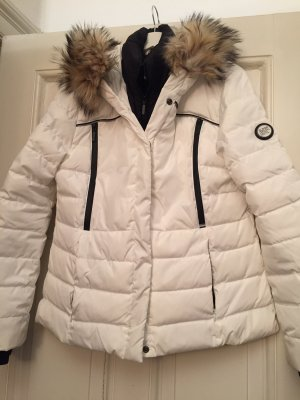 Superdry Winter Jacket white-black