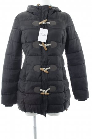 Superdry Winterjacke schwarz-türkis Casual-Look