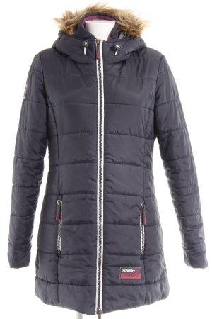 Superdry Manteau d'hiver Motif de tissage style décontracté