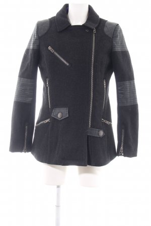 Superdry Wolljacke blau Casual-Look