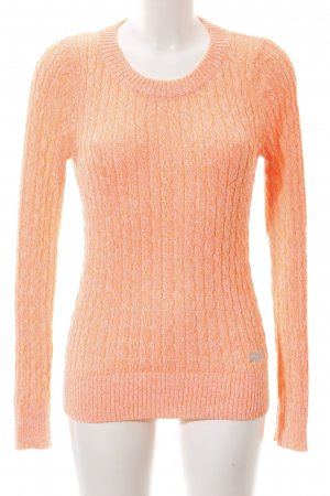 Superdry Cable Sweater nude cable stitch casual look