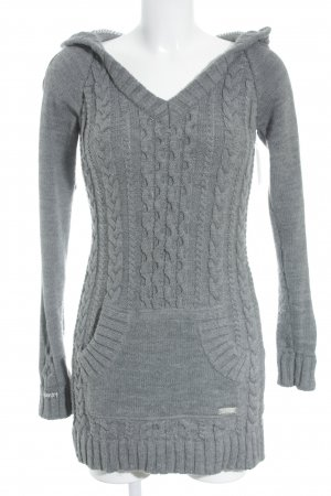Superdry Cable Sweater grey athletic style