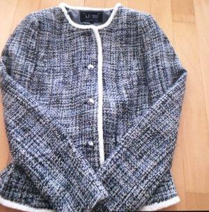 Superedle Tweedjacke von Armani Jeans Gr. 34
