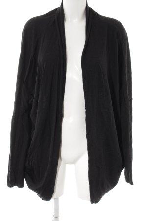 Superfine Cardigan schwarz minimalistischer Stil
