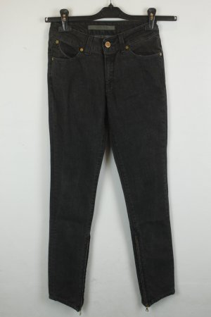 Superfine High Waist Jeans Gr. 26 grey denim