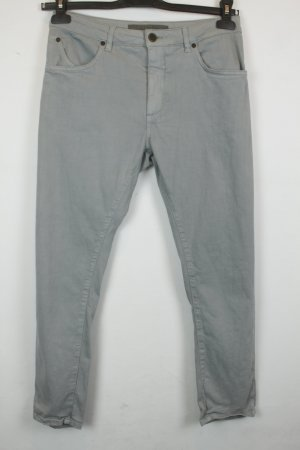 Superfine Hose Chinohose Gr. 27 grey denim