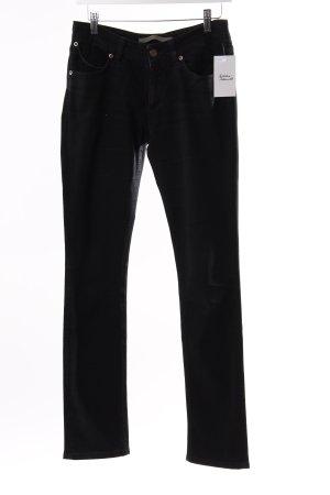 Superfine Skinny Jeans Schwarz