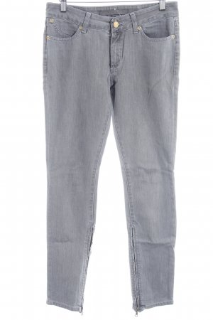 Superfine Straight-Leg Jeans grau Casual-Look