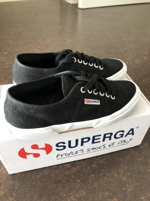 Superga 2750 Classic in schwarz (nur 1x getragen)