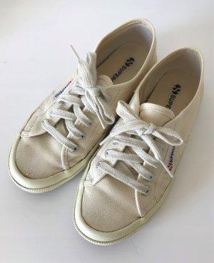 Superga 2750 Cotu Classic 38 Ivory Sneaker Slipper Flats Tunrschuhe Halbschuh