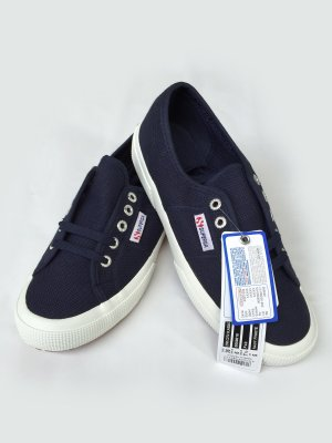 Superga 2750 Sneaker Navy Blau Blogger