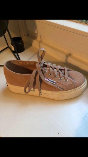 Superga Sneaker stringata color oro rosa