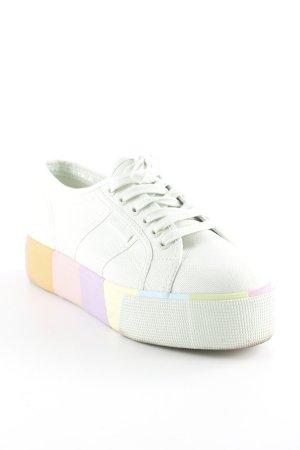 Superga Absatz Sneaker mehrfarbig sportlicher Stil