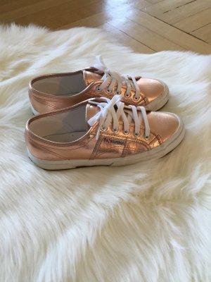 Superga Bronze-Sneaker Größe 38