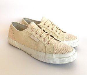 SUPERGA Canvas/Leder Sneaker low Gr.38