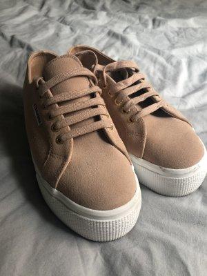 Superga Heel Sneakers salmon-pink