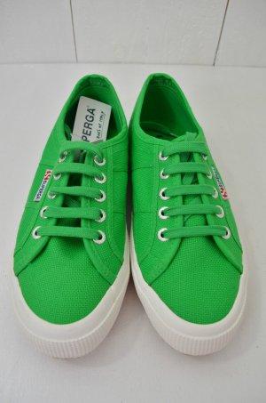 SUPERGA Damen Sneaker Schuhe Canvas Classic ISLAND GREEN Grün Gr. 37