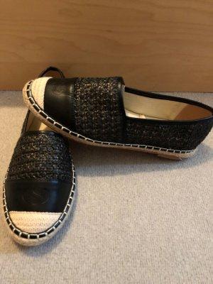 Superga Espadrille Sandals black