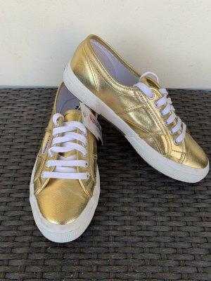 Superga gold gr 40 Neu Sneaker