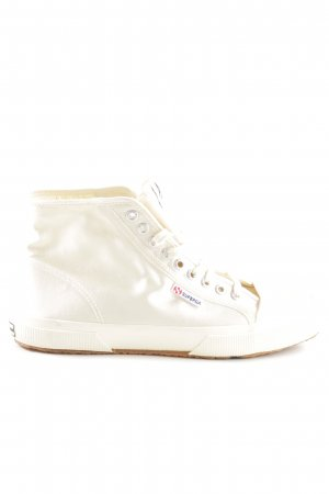Superga High Top Sneaker creme Casual-Look