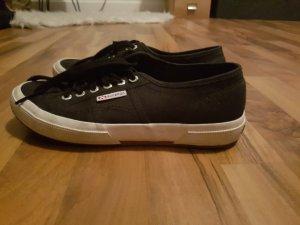 superga l sneaker black