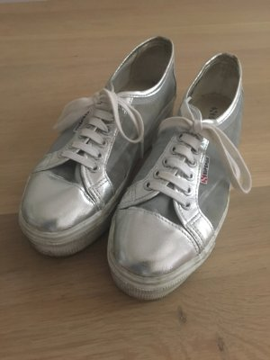 Superga Limited Silber plateau