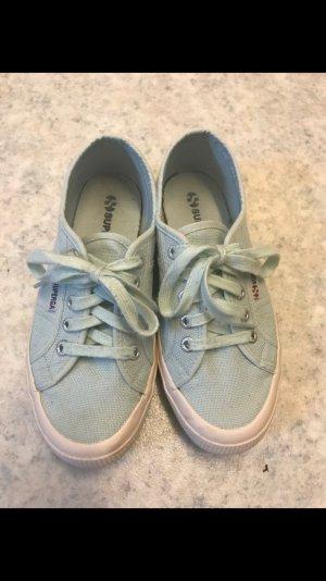 Superga mintfarben Sneaker