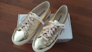 Superga orange-gold Sneaker