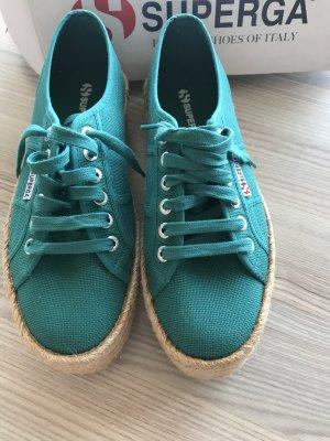 Superga Plateau Cotropew Schuhe
