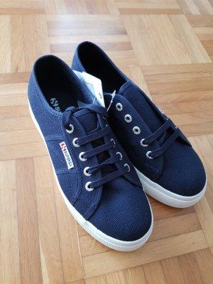 Superga Heel Sneakers white-blue