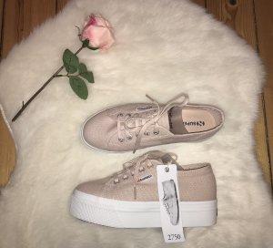 Superga Plateau Sneaker - rosa - 38