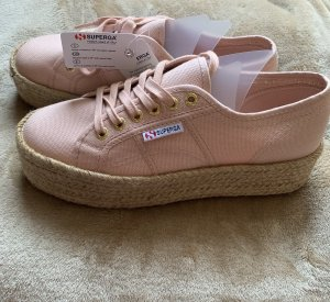 Superga Lace Shoes apricot-beige